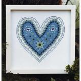 Fingerhut-Blaues Herz