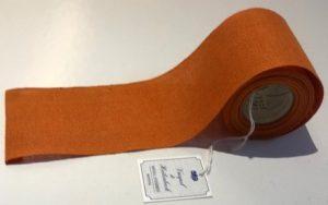 Leinenband orange