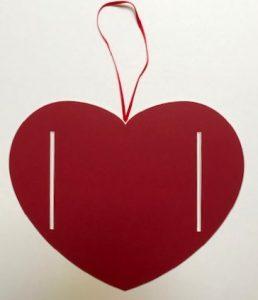 Passepartout großes Herz