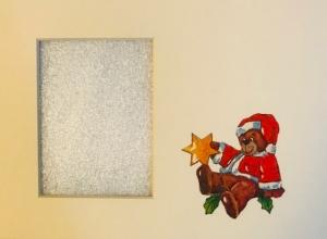 Weihnachtsbär mit Stern