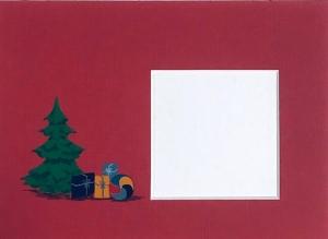 Weihnachtsbaum-rot